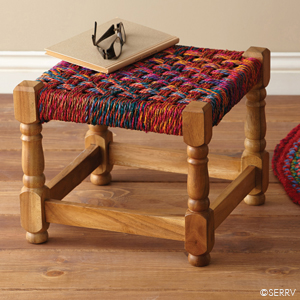 Bright Charpoy Stool