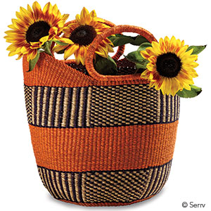 Orange Zorbisi Basket