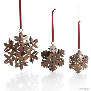 Snowflakes Trio Ornaments