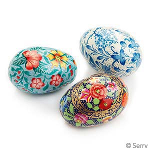Handpainted Kashmir Eggs