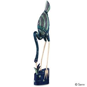 Teal Egret