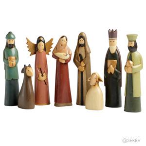 Indonesian Folk Nativity