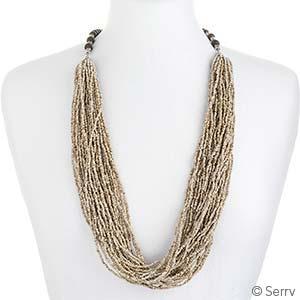 Sandy Multi-Strand Necklace