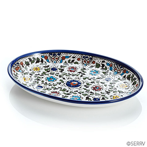 West Bank Small Oval Tray