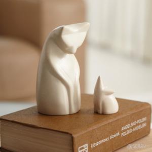 Soapstone Cat & Mouse