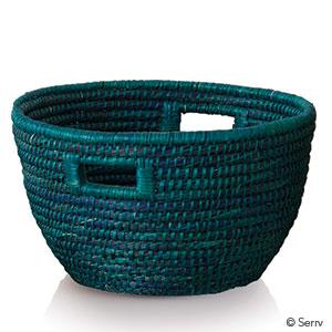 Teal Bucket Basket