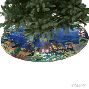 Arpillera Tree Skirt