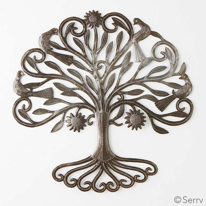 Spring Tree Wall Decor : Wall art rooted spring tree