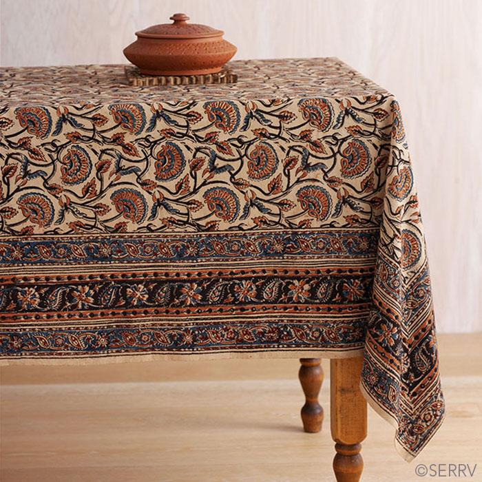 Elegant Fall Floral Tablecloth