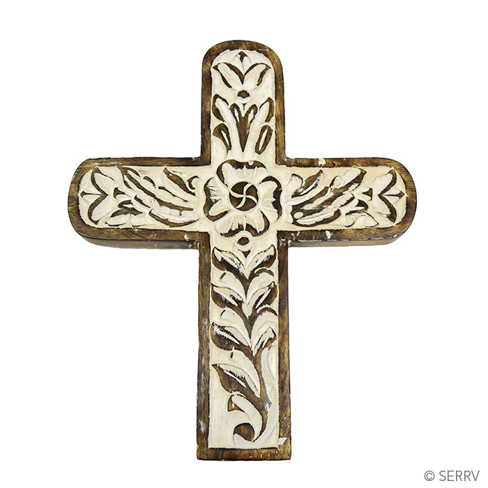 Crosses carved wooden wall cross Home decor wall crosses