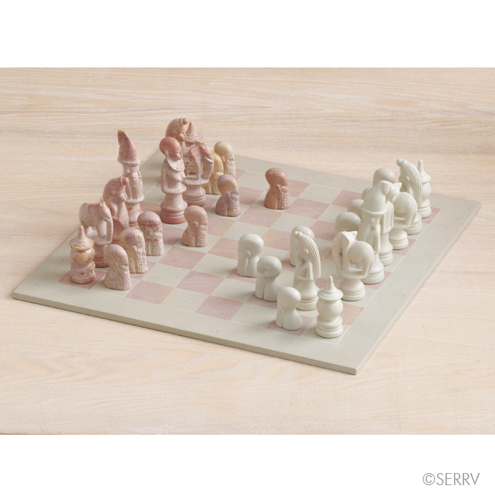 Gifts For Him African Figurine Chess Set