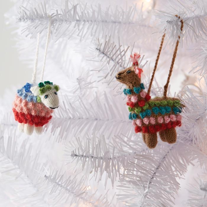 Christmas Ornaments - Highland Alpaca Ornament