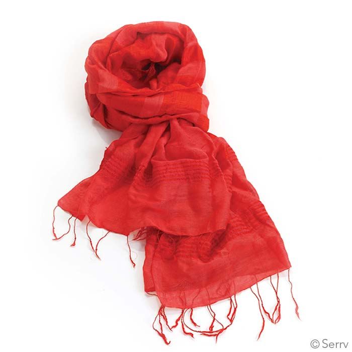 scarves softer than silk ruby scarf
