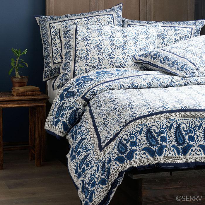 Home decor jaipur silkscreen bedding for Home decor jaipur