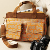Orange Business Bag