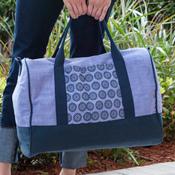 Lilac Weekender Bag