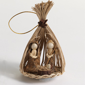 Toquilla Nativity Ornament