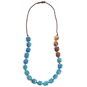 Two-Tone Tagua Necklace