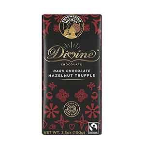 Dark Chocolate Hazelnut Truffle Large Bar Case