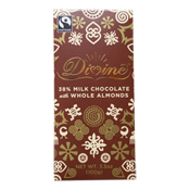 38% Milk Choc with Whole Almonds Large Bar Case