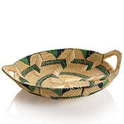 Blue Green Millet Basket