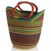Bolga Boat Basket