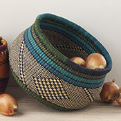Ghanaian Rounded Baskets