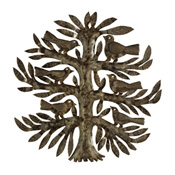 Tree of Life Recycled Wall Art