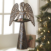 Recycled Angel Decor