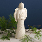 Stone Garland Angel