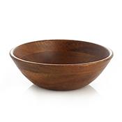 Mango Wood Salad Bowl