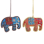 Indian Elephants Set of 2