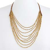 Golden Falls Necklace