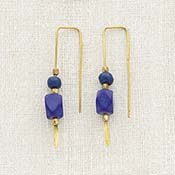 Mod Threaded Earrings