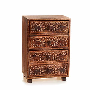 Tabletop Elephant Chest
