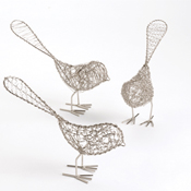 Freestanding Birdies Set