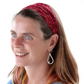 Jewel Tone Batik Headband Set