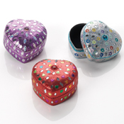 Sparkle Heart Boxes