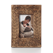 Carved Elephant Picture Frame