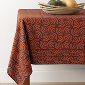 Orange Spice Tablecloth