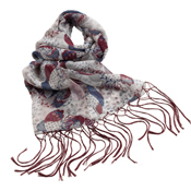 Abstract Paisley Scarf