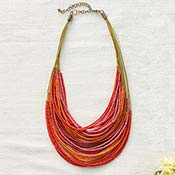 Coral Sunset Necklace