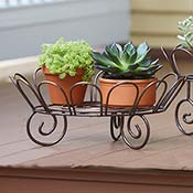 Iron Low Plant Stand