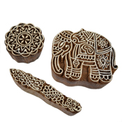 Indian Elephant Block Set