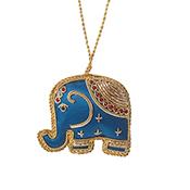 Zari Elephant Ornament