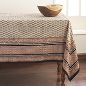 Bagru Cotton Tablecloth