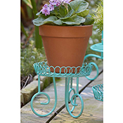 Sweet Scrollwork Tall Plant Stand