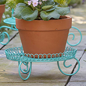 Sweet Scrollwork Low Plant Stand