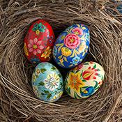Petite Floral Eggs