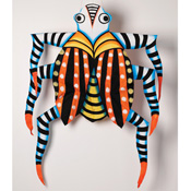 Zebra-Stripe Bug Kite